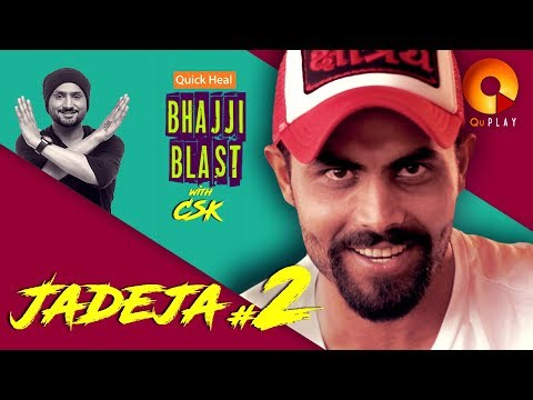 Jadeja part 2 | Quick Heal Bhajji Blast with CSK | QuPlayTV