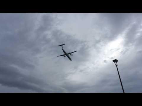CYYZ (Toronto Intl Airport) Spotting from Hotel Parking - DASH8