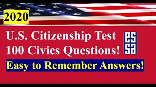 100 Questions for U.S. Citizenship - Easy Answers/