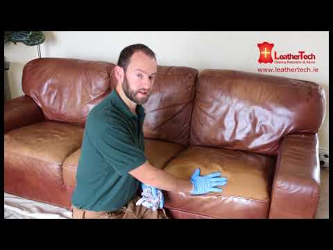 Leather Couch Cleaning and Restoration