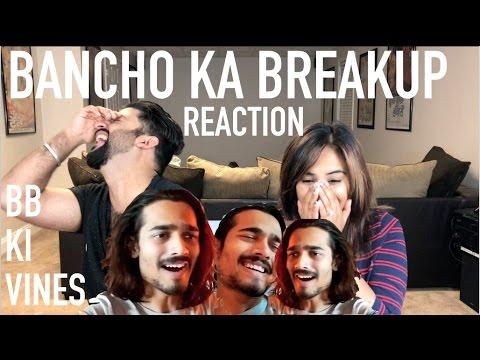 BB KI VINES | BANCHO KA BREAKUP REACTION |...