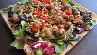 Mushrooms And Tomatoes Salad