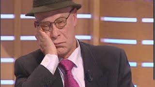 Hombre dormido en directo en televisión mientras busca compañera con Juan y Medio