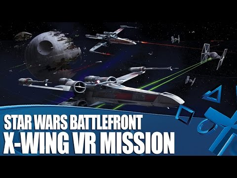 Star Wars Battlefront VR - How Does It Feel To Pilot an X-Wing?