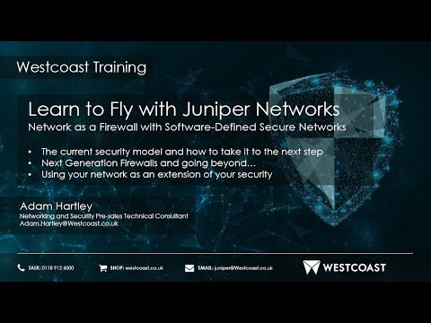 Learn to Fly Webinar Series Part 3: Network as a Firewall
