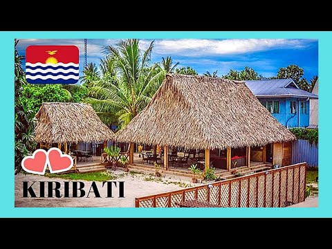 KIRIBATI, the remote ISLAND of ABATAO, a walking tour (spectacular images, Pacific Ocean)