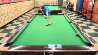 2013.07.25 at Highland Billiards, Yokohama. Japanese pro-pool-playe...