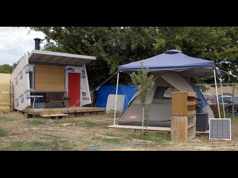 Communal Project in Fresno Has Found a Different Way to Treat the Homeless   KQED News