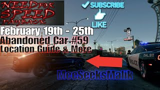Need For Speed Payback Abandoned Cars #59 - Location Guide + Gameplay - LaCatrina NISSAN FAIRLADY!