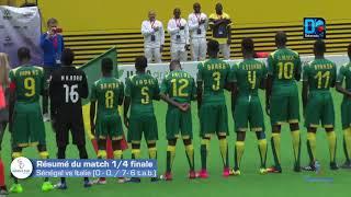 Résumé du match Quarts de finale Sénégal vs Italie