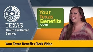 Your Texas Benefits Clęrk Video