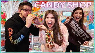 Last To Stop Eating Candy WINS Candy Store!