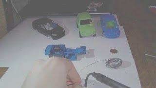 видео как сделать игрушечную машинку