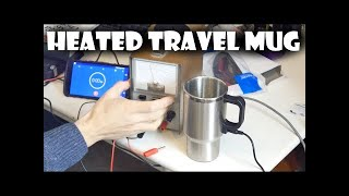 Heated Travel Mug Review & Test Failz