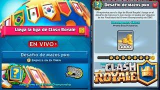 🔴 Desafío de Mazos Pro - Clash Royale - Multi Torneos, Misiones, Ladder y Más