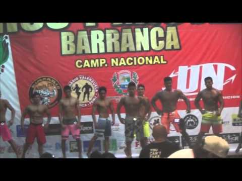 "Men's Physique ""Mr  Barranca""2015"