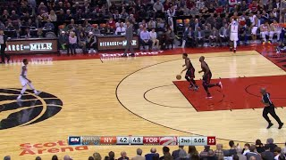 2nd Quarter, One Box Video: Toronto Raptors vs. New York Knicks