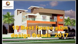 10 Best House Plan Design Trends August 2017 | Indian Home Design Ideas