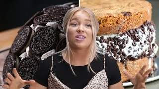 How To Make 3 Giant Desserts By Alix • Tasty