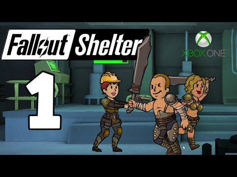 First Day As Overseer - Fallout Shelter Xbox One Gameplay - Part 1