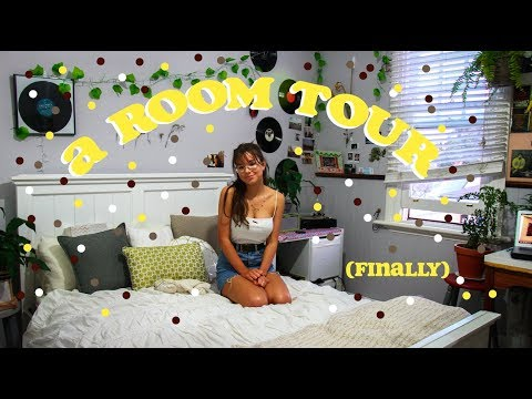 a room tour (retro, tumblr + greenery!)