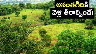 Amazing Ananthagiri Hills, Vikarabad, Full Coverage | HD Video!!