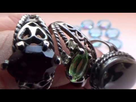 Amazing Gemstones And Vintage Rings