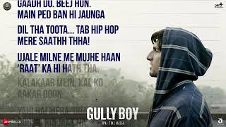 Asli Hip Hop - lyrics English subtitles- Gully Boy - Ranveer Singh rap
