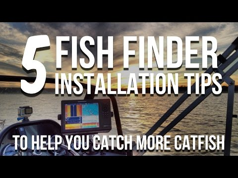 5 Fishfinder Installation Tips For Success (And Catching More Catfish)