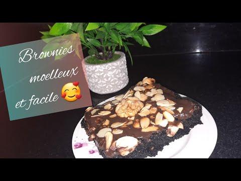 براونيز-رائع-هش-معلك-و-لذيذ-جدا-🍫🥮-recette-brownies-moelleux-et-facile-👌😋