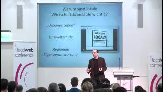 Dirk Spannaus, on2off, bei der Local Web Conference 2012