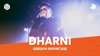 DHARNI | Grand Beatbox Battle Showcase 2019