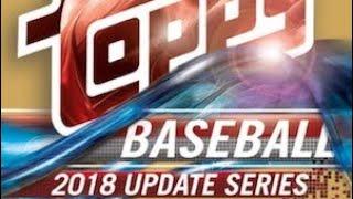 11/09/18 - eBay - 9 PM CDT - 2018 Topps Update Baseball Jumbo 1/2 Case Break
