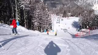 видео Газпром-Лаура (горнолыжный курорт)