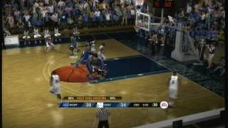 NCAA Basketball 09 (Xbox 360) Memphis vs. Chattanooga