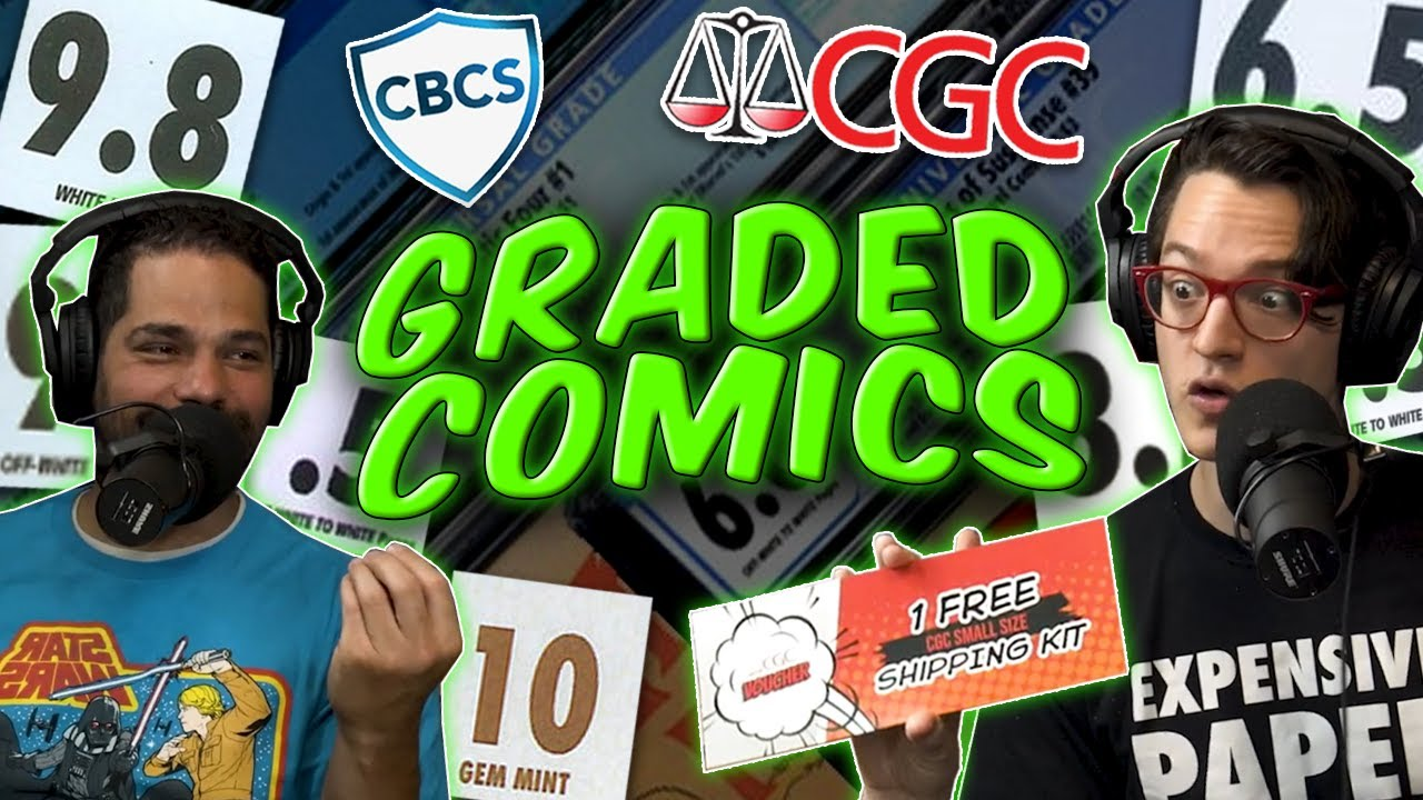 We're Chatting Comic Books Stuck in Plastic!   CGC & CBCS Graded Comic Discussion ft.GoldenAgeGuru
