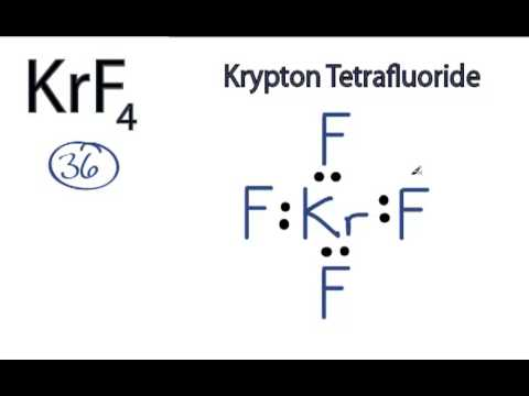 KrF4 Lewis Structure How to Draw the Lewis Structure for KrF4