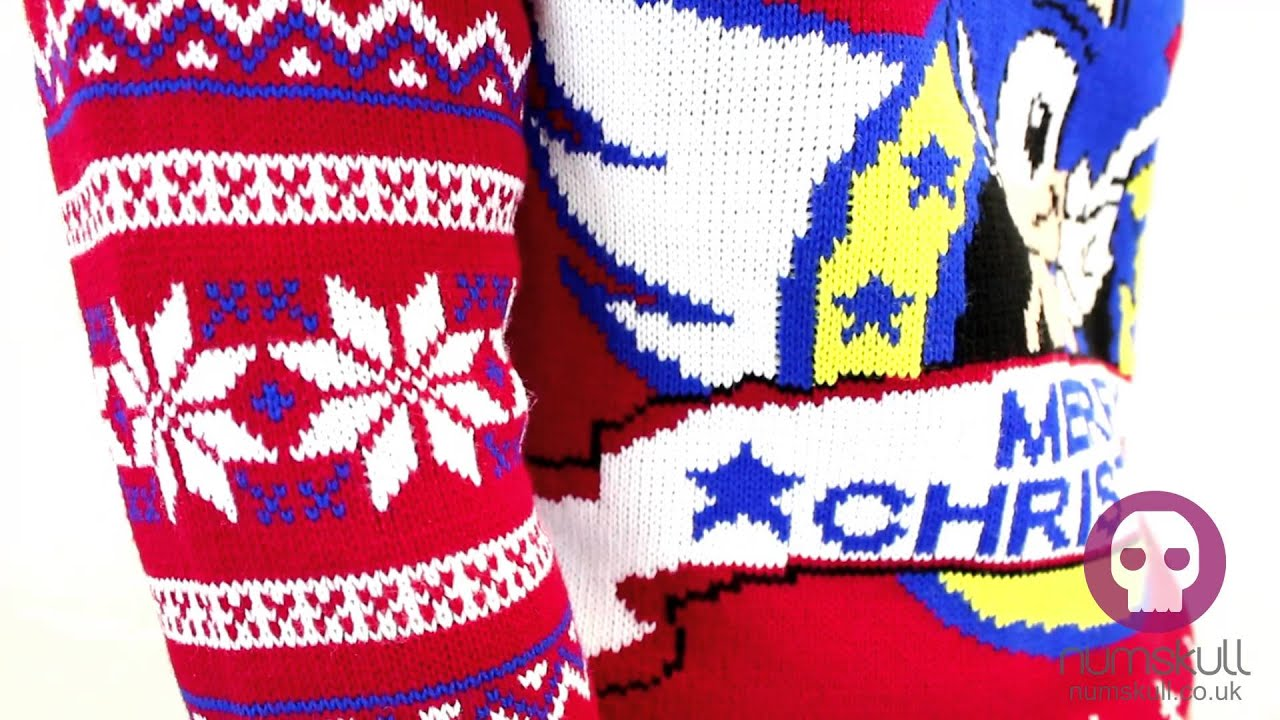 Sonic The Hedgehog Christmas Jumper - YouTube