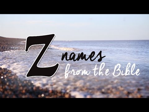 Z Names From The Bible