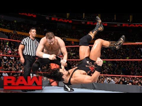 Sami Zayn vs. Bo Dallas: Raw, Nov. 14, 2016