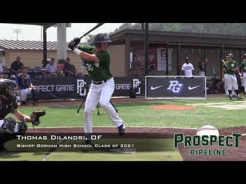 Thomas Dilandri Prospect Video, OF, Bishop Gorman High School Class of 2021