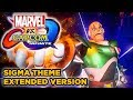 Marvel vs Capcom Infinite ► Sigma Theme Full Music [EXTENDED MVCI OST] - BEST VERSION - Soundtrack