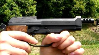 Airsoft gun KSC Beretta M93R 1ST HeavyWeight GBB part2