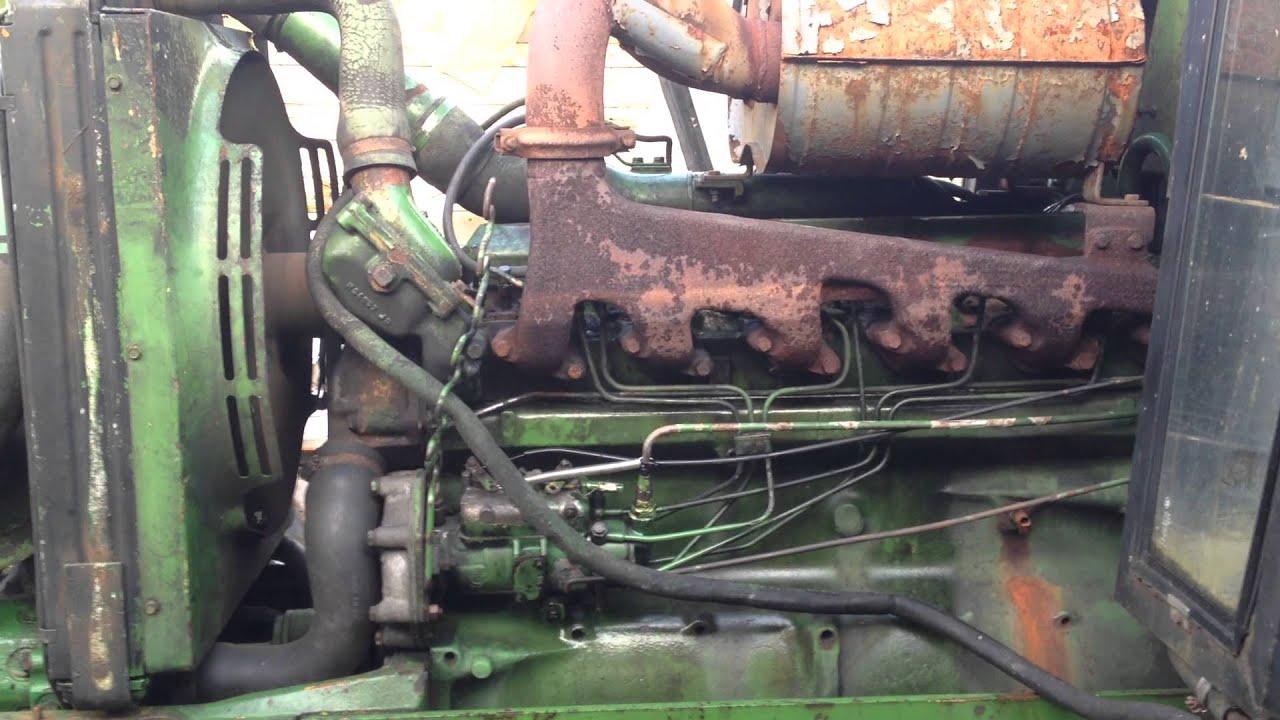 Jd Tractor Hoods : John deere tractor under the hood youtube