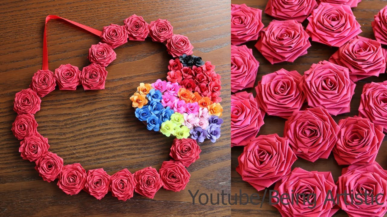 Diy Paper Wall Hanging Craft Ideas Paper Craft Wall Decoration