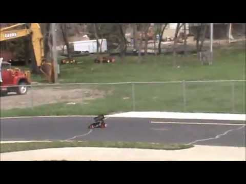 Predator 1/4 Scale Rc Sprint Car