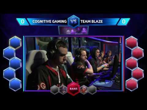 HOTS — Cognitive Gaming vs Team Blaze  NA Spring Regional  Match 10 Lower Bracket