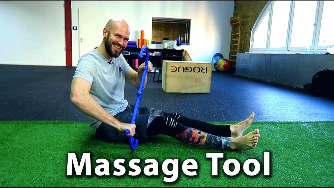 Theracane: Mobility Tool zur Selbstmassage - Muskel Knoten behandeln ...