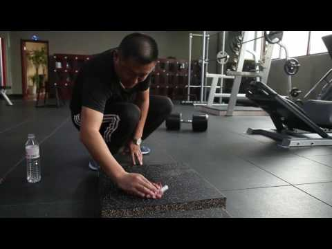 How to clean the rubber.