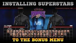 WWE 2K15 PC MOD: Installing Superstars as DLC [TUTORIAL]
